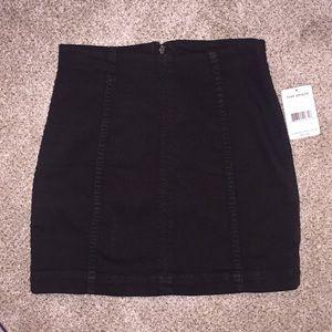 NWT Free People Modern Femme Denim Mini Skirt 4